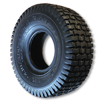 """– Tires For 6"""" Tri-Star Wheels - 4"""" Wide"""